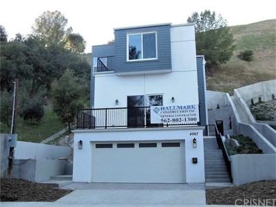 4967 Llano Drive, Woodland Hills, CA 91364 - MLS#: SR18262310