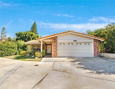 4918 Llano Drive, Woodland Hills, CA 91364 - MLS#: SR18267150