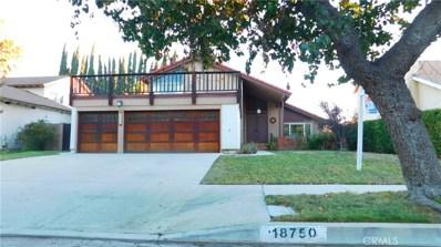 18750 Merridy Street, Northridge, CA 91324 - MLS#: SR18270083