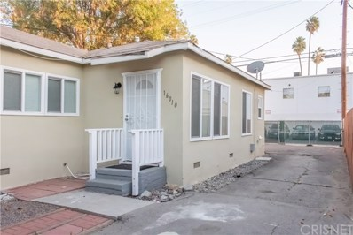 16008 Cantlay Street, Van Nuys, CA 91406 - MLS#: SR18270329