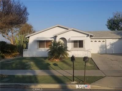 594 Toledo Drive, Hemet, CA 92545 - MLS#: SR18272326