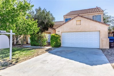 3710 Napa Way, Palmdale, CA 93550 - MLS#: SR18273231