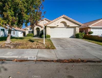 5505 Cisero Drive, Palmdale, CA 93552 - MLS#: SR18273667
