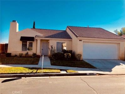 40142 La Cota Drive, Palmdale, CA 93550 - MLS#: SR18274438