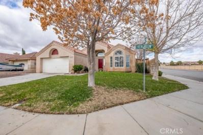 1125 Evergreen Court, Rosamond, CA 93560 - MLS#: SR18275949