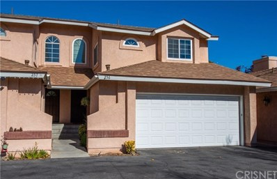 22917 Banyan Place UNIT 256, Saugus, CA 91390 - MLS#: SR18280045