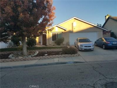 37726 Mountainside Drive, Palmdale, CA 93550 - MLS#: SR18281254