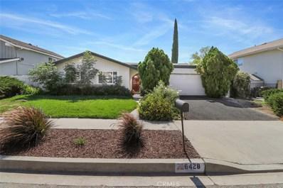 6428 Bayberry Street, Oak Park, CA 91377 - MLS#: SR18282327