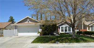 2123 W Avenue K9, Lancaster, CA 93536 - MLS#: SR18296966