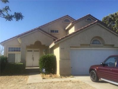 3157 Conestoga Canyon Road, Palmdale, CA 93550 - MLS#: SR19000012