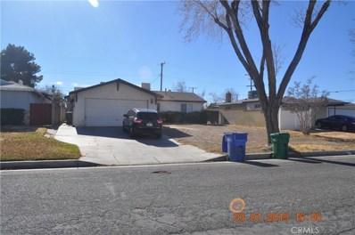 1454 W Kettering Street, Lancaster, CA 93534 - MLS#: SR19000457