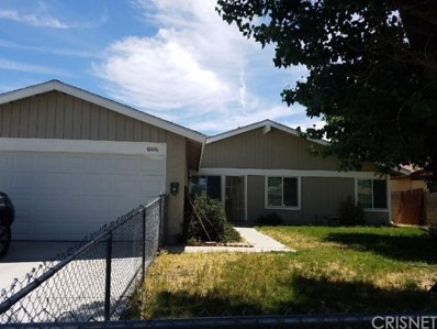 42816 Yew Street, Lancaster, CA 93536 - MLS#: SR19001495