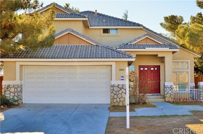 2886 Purple Sage Lane, Palmdale, CA 93550 - MLS#: SR19002814