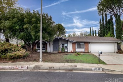 19081 Kingsbury Street, Northridge, CA 91326 - MLS#: SR19006379