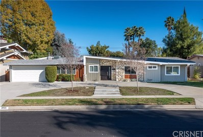 4820 Abbeyville Avenue, Woodland Hills, CA 91364 - MLS#: SR19008884