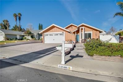 27495 Elder View Drive, Valencia, CA 91354 - MLS#: SR19016132