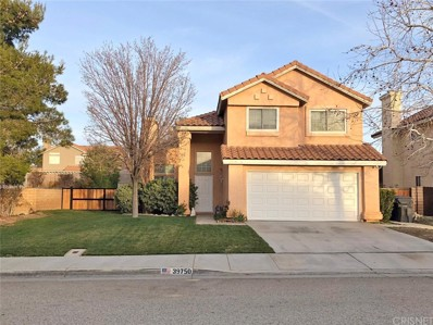39750 Milan Drive, Palmdale, CA 93551 - MLS#: SR19021450