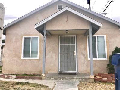346 W Kettering Street, Lancaster, CA 93534 - MLS#: SR19032682
