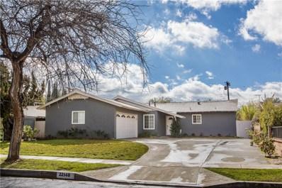 22140 Elkwood Street, Canoga Park, CA 91304 - MLS#: SR19034282