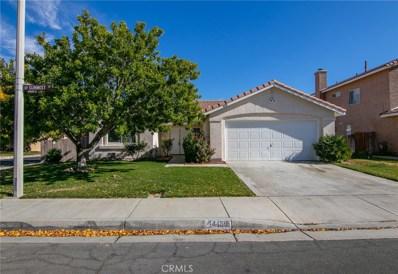 44138 Sunmist Court, Lancaster, CA 93535 - MLS#: SR19043912