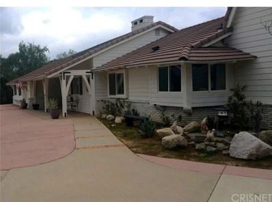 10434 Calling Road, Agua Dulce, CA 91390 - MLS#: SR19051957