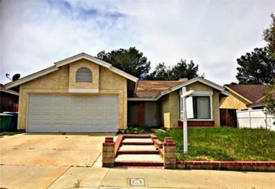 36937 Desert Willow Drive, Palmdale, CA 93550 - #: SR19053656