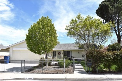43000 Guyman Avenue, Lancaster, CA 93536 - MLS#: SR19079278