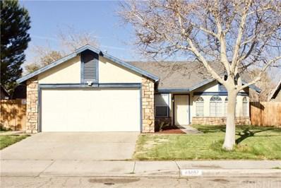 45057 Rachel Avenue, Lancaster, CA 93535 - MLS#: SR19079338
