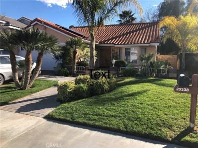 20338 Calhaven Drive, Saugus, CA 91390 - #: SR19099128