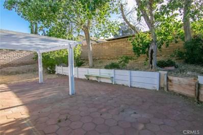 36637 Apache Plume Drive, Palmdale, CA 93550 - MLS#: SR19107863