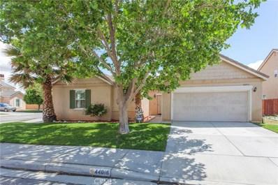 44016 Camellia Street, Lancaster, CA 93535 - MLS#: SR19115857