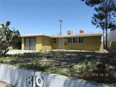 819 W Avenue J, Lancaster, CA 93534 - MLS#: SR19116683