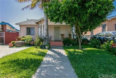 5155 S Van Ness Avenue, Los Angeles, CA 90062 - MLS#: SR19118531