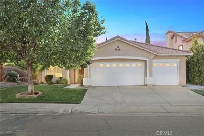 40307 Bolz Ranch Road, Palmdale, CA 93551 - MLS#: SR19120400