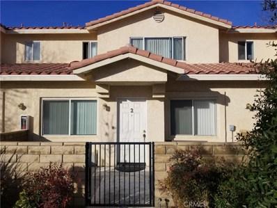 43487 30th Street W UNIT 2, Lancaster, CA 93536 - MLS#: SR19121735