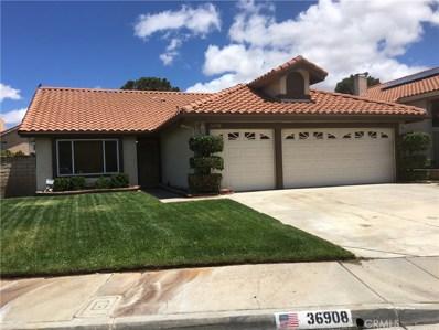 36908 32nd Street E, Palmdale, CA 93550 - MLS#: SR19123093