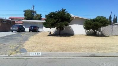 44619 21st Street W, Lancaster, CA 93536 - MLS#: SR19124334