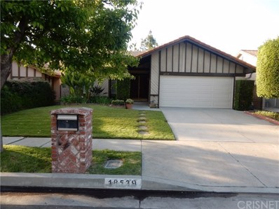 18539 Kinzie Street, Northridge, CA 91324 - MLS#: SR19127098