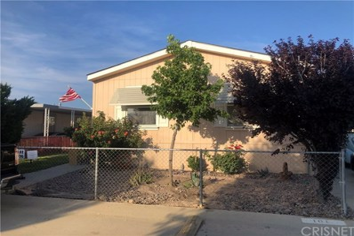 45465 E 25th Street UNIT 101, Lancaster, CA 93535 - MLS#: SR19145642
