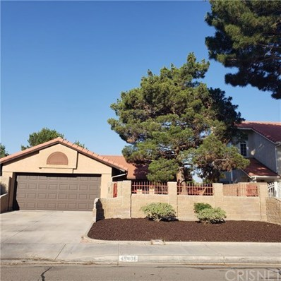 45406 Thornwood Avenue, Lancaster, CA 93534 - MLS#: SR19145876