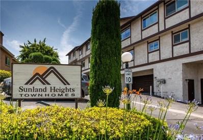 10480 Sunland Boulevard UNIT 30, Sunland, CA 91040 - MLS#: SR19158347