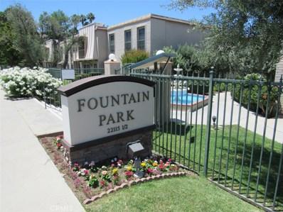 6031 Fountain Park Lane UNIT 6, Woodland Hills, CA 91367 - MLS#: SR19164377