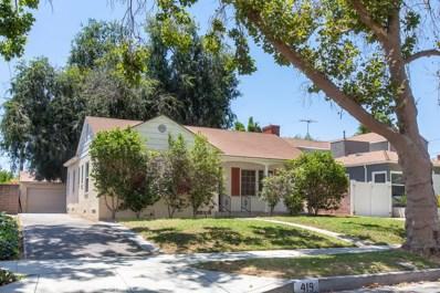 419 S Mariposa Street, Burbank, CA 91506 - MLS#: SR19168546