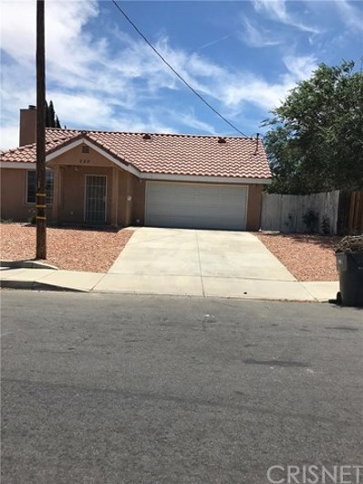 328 E Avenue Q7, Palmdale, CA 93550 - MLS#: SR19169161