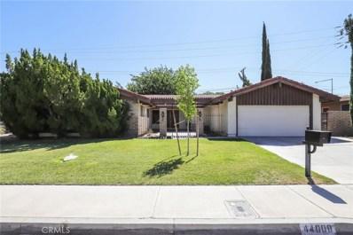 44008 Fenner Avenue, Lancaster, CA 93536 - MLS#: SR19195578
