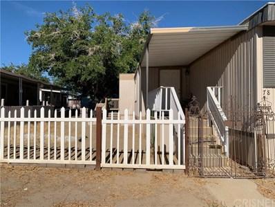 3524 E Avenue R UNIT 78, Palmdale, CA 93550 - MLS#: SR19196496