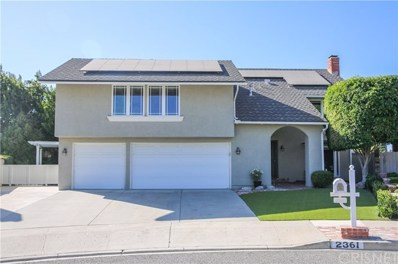 2361 Amberly Place, Simi Valley, CA 93065 - MLS#: SR19225930
