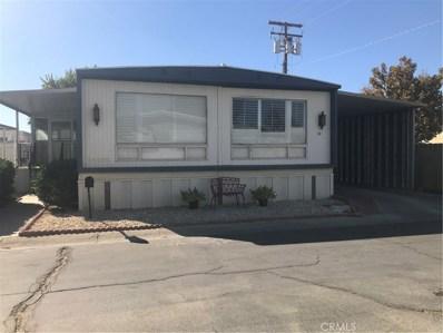 2550 East Avenue I UNIT 33, Lancaster, CA 93535 - MLS#: SR19247779