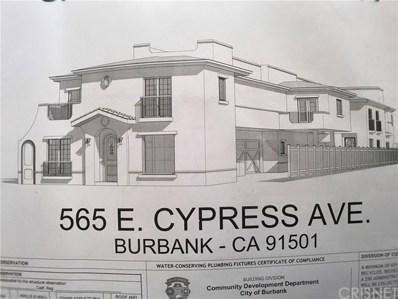 565 E Cypress Avenue, Burbank, CA 91501 - #: SR19263223