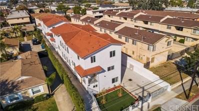 329 E Hazel Street UNIT D, Inglewood, CA 90302 - MLS#: SR19271317